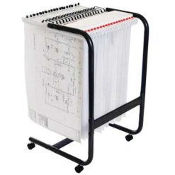 The-Planhorse-A1-2000-Paper-Management-System-Mobile-Trolley-Nobis-Education-Furniture