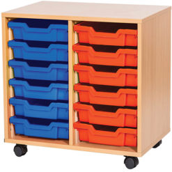Double Bay Tray Units