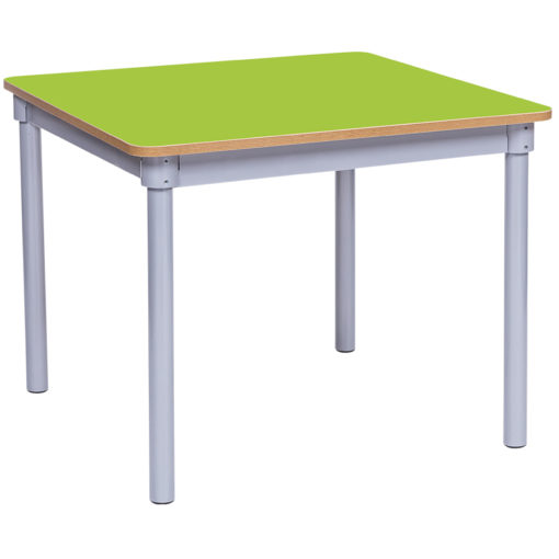 KubbyClass-800mm-Square-Classroom-Table-Lime-Nobis-Education-Furniture