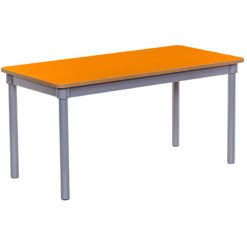 KubbyClass-Rectangular-Jaffa-Orange-Classroom-Table-1200mm-x-600mm-Nobis-Education-Furniture