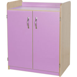 Kubbyclass-Midi-2-Door-Classroom-Storage-Cupboard-Lilac-792mm-High-Nobis-Education-Furniture