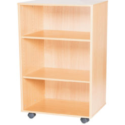 12-High-Double-Open-Mobile-or-Static-Classroom-Storage-Unit-with-fixed-shelves-1107mm-High-Nobis-Education-Furniture