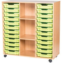 24-Tray-Triple-Bay-Classroom-Storage-Unit-With-Centre-Shelves-Nobis-Education-Furniture