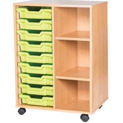 9-Tray-Mobile-Static-Unit-Double-Bay-Nobis-Education-furniture
