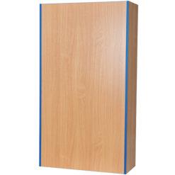 Folio-Premium-750mm-Wide-Flat-Top-School-Library-Blanking-Unit-1800mm-High-Nobis-Education-Furniture