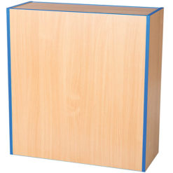 Folio-Premium-750mm-Wide-Flat-Top-School-Library-Blanking-Unit-750mm-High-Nobis-Education-Furniture