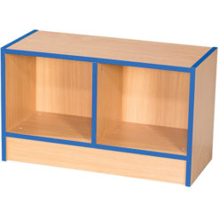 Folio-Premium-Double-School-Library-Book-Storage-Bench-450mm-High-Nobis-Education-Furniture