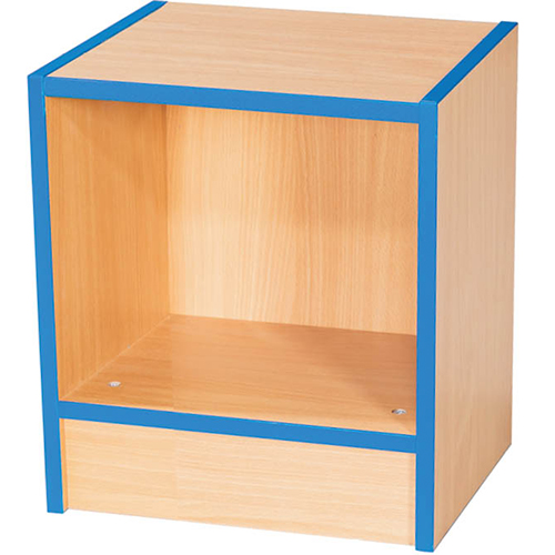 Folio-Premium-Single-School-Library-Book-Storage-Bench-450mm-High-Nobis-Education-Furniture