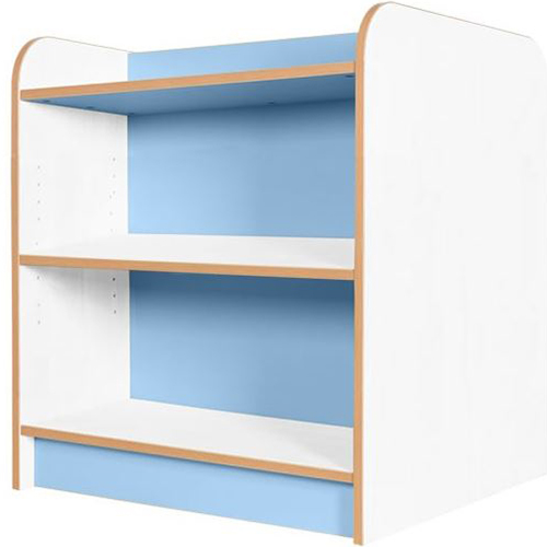 KubbyClass-Polar-School-Library-Double-Sided-Bookcase-750mm-High-Light-Blue-Nobis-Education-Furniture