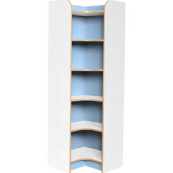 Kubbyclass-Polar-School-Library-Internal-Corner-Bookcase-1750mm -High-Light-Blue-Nobis-Education-Furniture