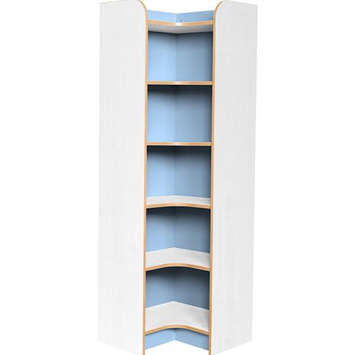 Kubbyclass-Polar-School-Library-Internal-Corner-Bookcase-1750mm -High-Light-Blue-Nobis-Education-Furniture