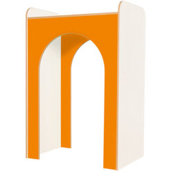 Kubbyclass-Polar-School-Library-Library-Archway-1500mm-High-Orange-Nobis-Education-Furniture