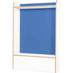 Kubbyclass-Polar-School-Library-Seat- -1500mm-High-Blue-Nobis-Education-Furniture