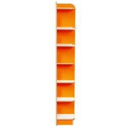 Right-End-Bookcase-Polar-Kubby-Class-Orange-2000mm-High-Nobis-Education-Furniture
