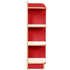 Right-End-Bookcase-Polar-Kubby-Class-Red-1500mm-High-Nobis-Education-Furniture