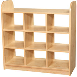Early-Years-Low-Level-3-Tier-Storage-Shelving-Cube-Unit-Open-Back-Nobis-education-Furniture