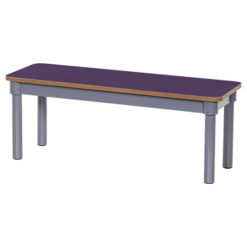 KubbyClass-1000mm-Classroom-Bench-Purple-Nobis-Education-Furniture