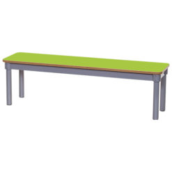 KubbyClass-1200mm-Classroom-Bench-Lime-Green-Nobis-Education-Furniture