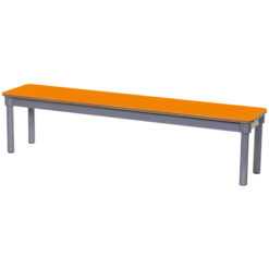 KubbyClass-1600mm-Classroom-Bench-Orange-Nobis-Education-Furniture