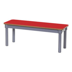 KubbyClass-900mm-Classroom-Bench-Red-Nobis-Education-Furniture