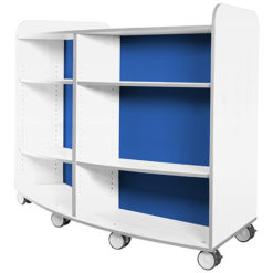 KubbyClass-Polar-School-Library-Curved-Mobile-Bookcase-1250mm-High-Blue-Nobis-Education-Furniture