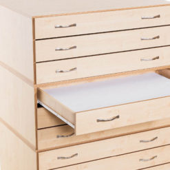 Wooden Plan Chests