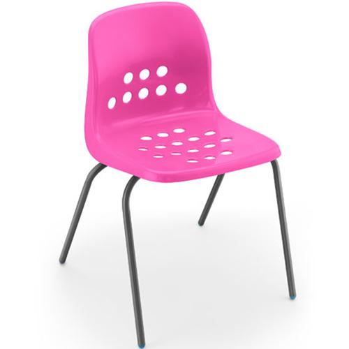Pepperpot-Polypropylene-Classroom-Stacking-Chair-430mm-High-Pink