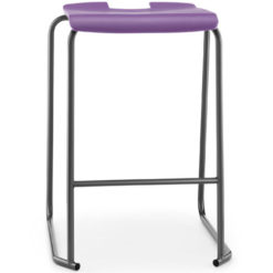 SE-Ergonomic-Polypropylene-Classroom-Stacking-Stool-525mm-High-Purple-Nobis-Education-Furniture