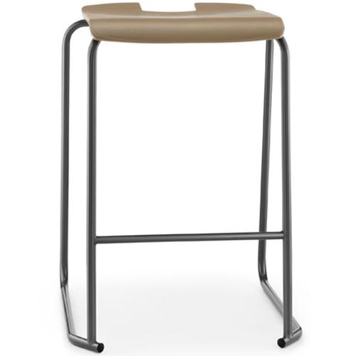 SE-Ergonomic-Polypropylene-Classroom-Stacking-Stool-610mm-High-Mocha-Nobis-Education-Furniture