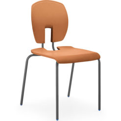 SE-Perfect-Posture-Curve-Classroom-Stacking-Chair-430mm-High-Terracotta-Nobis-Education-Furniture
