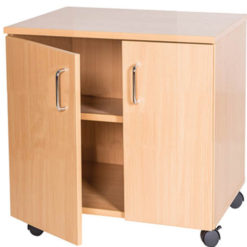 School-Classroom-Mobile-Static-Double-Storage-Cupboard-533mm-High-Nobis-Education-Furniture