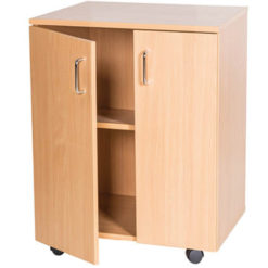 School-Classroom-Mobile -Static-Double-Storage-Cupboard-697mm-High-Nobis-Education-Furniture