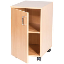 School-Classroom-Mobile-Static-Single-Storage-Cupboard-615mm-High-Nobis-Education-Furniture