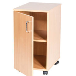School-Classroom-Mobile -Static-Single-Storage-Cupboard-697mm-High-Nobis-Education-Furniture