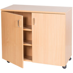School-Classroom-Mobile-Static-Triple-Storage-Cupboard-1107mm-High-Nobis-Education-Furniture