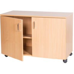 School-Classroom-Mobile-Static-Triple-Storage-Cupboard-615mm-High-Nobis-Education-Furniture