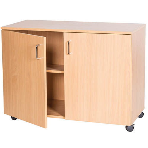 School-Classroom-Mobile -Static-Triple-Storage-Cupboard-697mm-High-Nobis-Education-Furniture