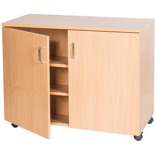 School-Classroom-Mobile-Static-Triple-Storage-Cupboard-779mm-High-Nobis-Education-Furniture
