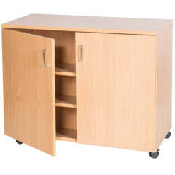 School-Classroom-Mobile-Static-Triple-Storage-Cupboard-943mm-High-Nobis-Education-Furniture
