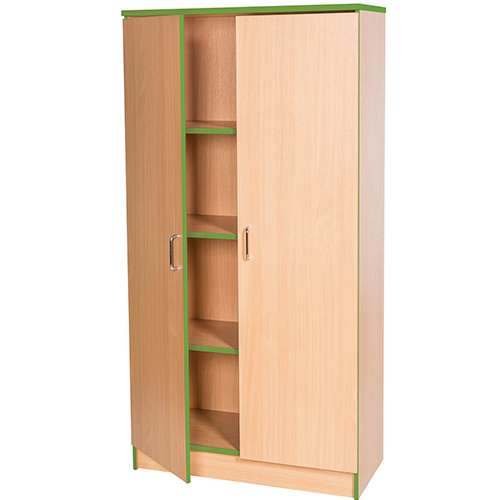 Sovereign-1000mm-Wide-Library-Bookcase-1500mm-High-Nobis-Education-Furniture