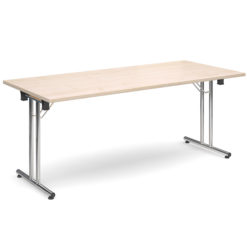 The-Classroom-Deluxe-Rectangular-Meeting-Table-Folding-Legs-Maple-Nobis-Education-Furniture