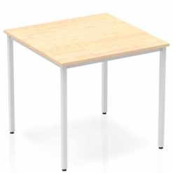 The-Impulse-Classroom-Deluxe-Rectangular-Meeting-Table-Silver-Coated-Box-Leg-800mm-Maple-Nobis-Education-Furniture