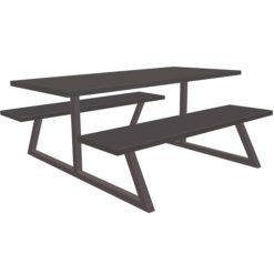 The-Nova-School- Canteen-Bench-Dining-Set-Anthracite-Nobis-Education-Furniture