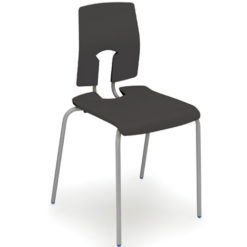 The-SE-Perfect-Posture-Classroom-Stacking-Chair-260mm-High-Ebony-Nobis-Education-Furniture