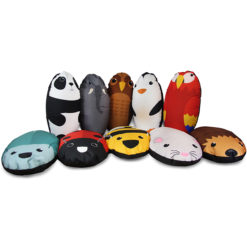 Pre-School-and-Primary-Animal-Character-Bean-Bags-Set-of-5-10-Nobis-Education-Furniture