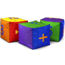 Pre-School-and-Primary-Maths-Cube-Bean-Bag-Set-Nobis-Education-Furniture
