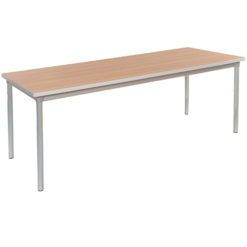 Miraculous The Enviro School Canteen Rectangle Table And 2 Benches Ocoug Best Dining Table And Chair Ideas Images Ocougorg