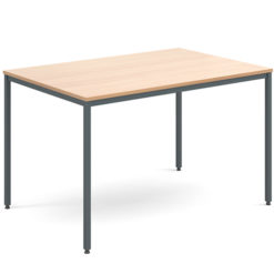 Rectangular-Flexi-Classroom-Table-with-Graphite-Frame-1200-x-800mm-Beech-Nobis-Education-Furniture