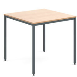 Rectangular-Flexi-Classroom-Table-with-Graphite-Frame-800mm-Square-Beech-Nobis-Education-Furniture