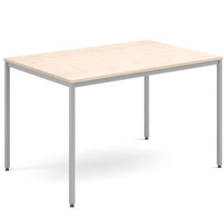 Rectangular-Flexi-Classroom-Table-with-Silver-Frame-1200-x-800-Maple-Nobis-Education-Furniture